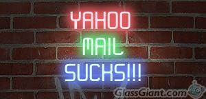 yahoo mail sucks